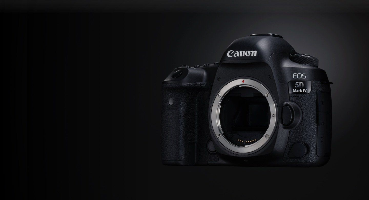 Canon EOS 5D Mark IV with Dual Pixel RAW